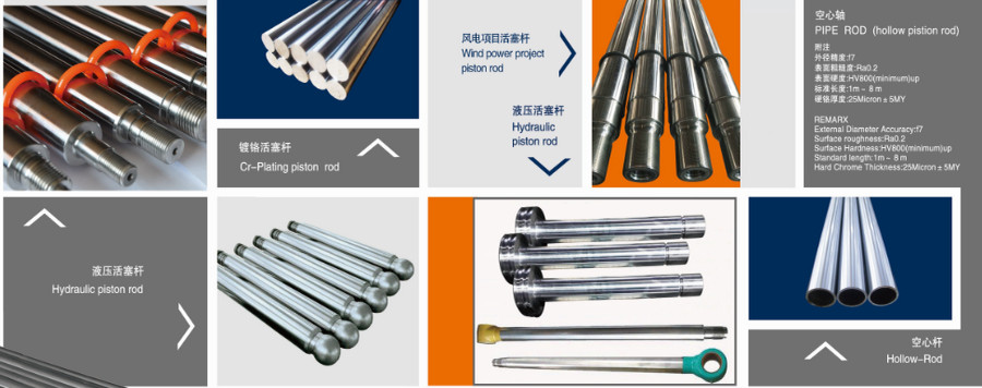 China best Hydraulic Piston Rods on sales