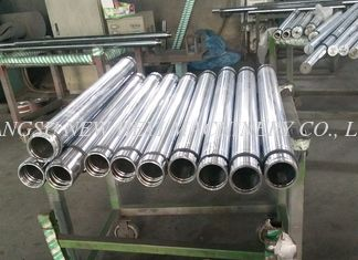 40Cr, 42CrMo4 Hollow Metal Rod, Hard Chrome Quenched / Tempered Rod For Hydraulic Cylinder