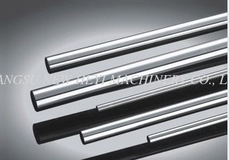Round Customized Steel Tie Rod, Hard Chrome Plated Metal Rod CK45, ST52