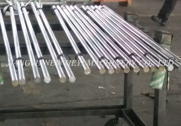 40Cr / CK45 Hard Chrome Plated Rod Tempered Rod For Hydraulic Cylinder