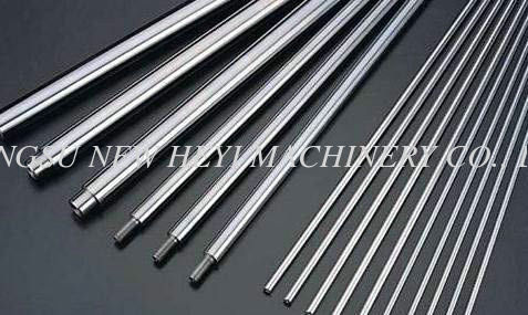 High Precision Chrome Piston Rod / Chrome Hydraulic Cylinder Rod