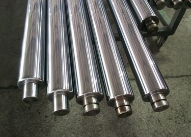 China 1m - 8m Length Chrome Plated Piston Rod , Hydraulic Cylinder Piston Rod distributor