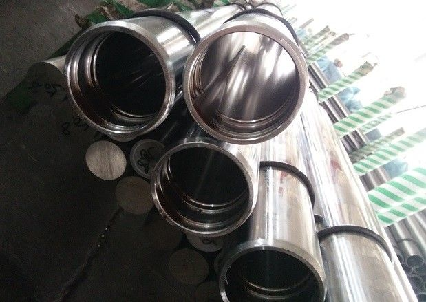 Hydraulic Cylinder Stainless Steel Hollow Bar , Hard Chrome Plated Pipe Bar